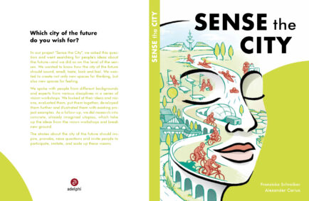 Sense the City / Book Launch & Expert Talk on Urban Futures