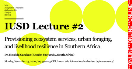 IUSD Lecture #2 / Dr. Hesekia Garekae, Rhodes University, South Africa